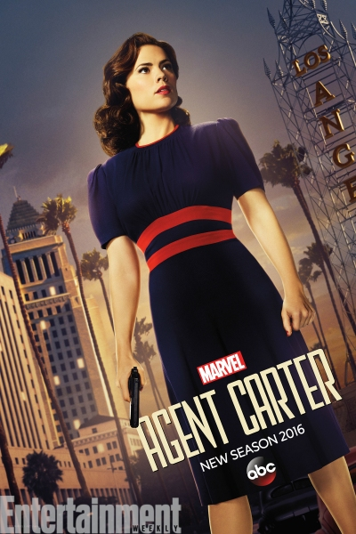 Hayley Atwell stars as Peggy Carter in AGENT CARTER