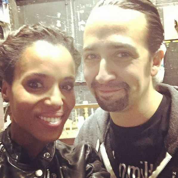 Kerry Washington, Lin-Manuel Miranda