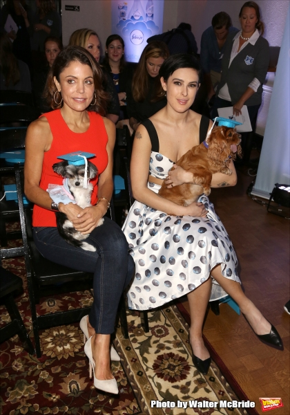 Bethenny Frankel and Rumer Willis