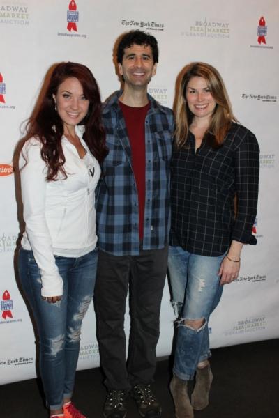 Sierra Boggess, John Cariani and Heidi Blickenstaff