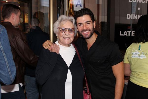 Adam Kantor and his Grandmother