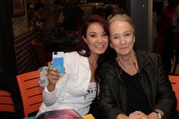 Sierra Boggess and Kathleen Chalfant