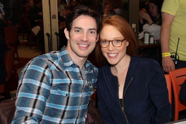 Scott J. Campbell and Jessica Keenan Wynn