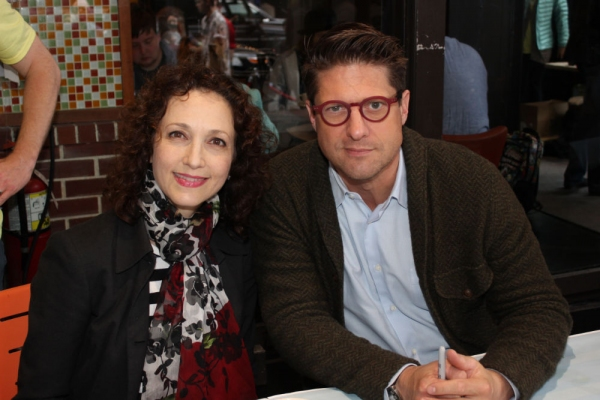Bebe Neuwirth and Chris Sieber