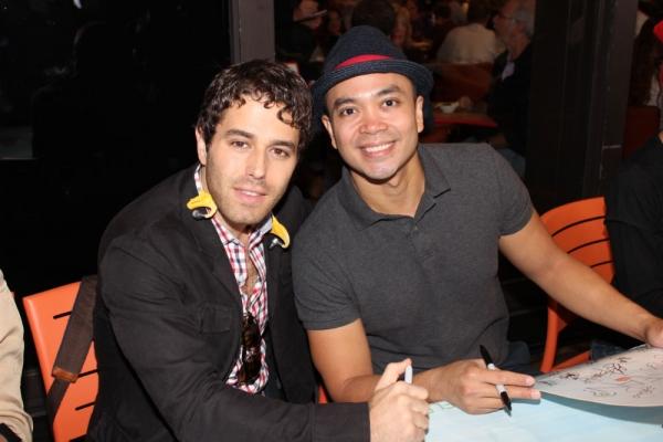 Josh Young and Jose Llana