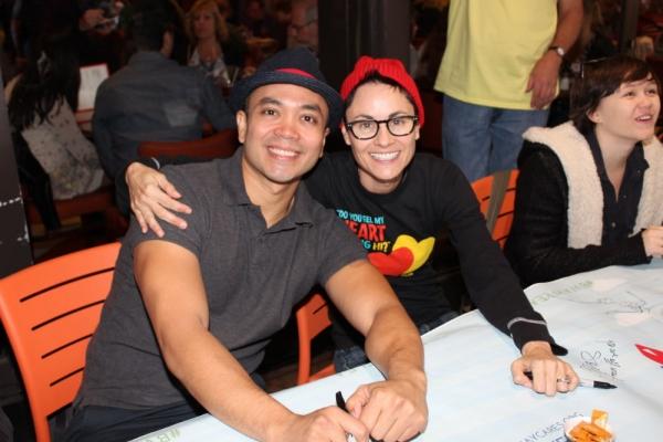 Jose Llana and Beth Malone