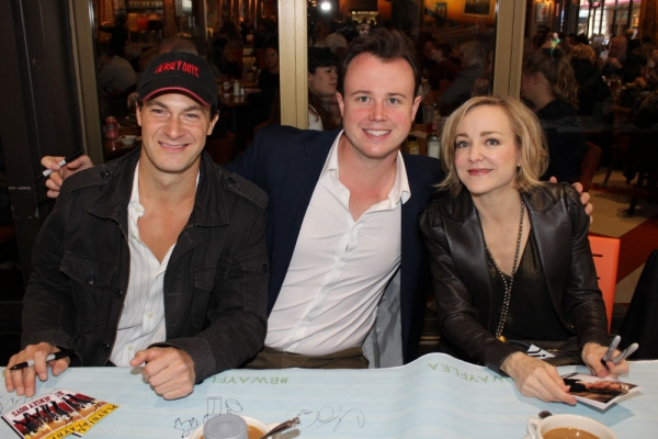 Matt Bogart, Quinn van Antwerp and Geneva Carr
