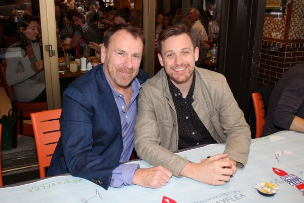 Colin Quinn and Michael Arden