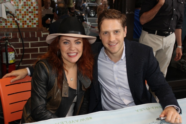 Rachel Tucker and Andy Kelso