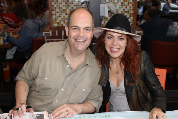 Brad Oscar and Rachel Tucker