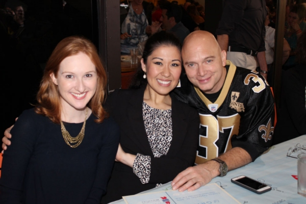 Erin Mackey, Ruthie Ann Miles and Michael Cerveris