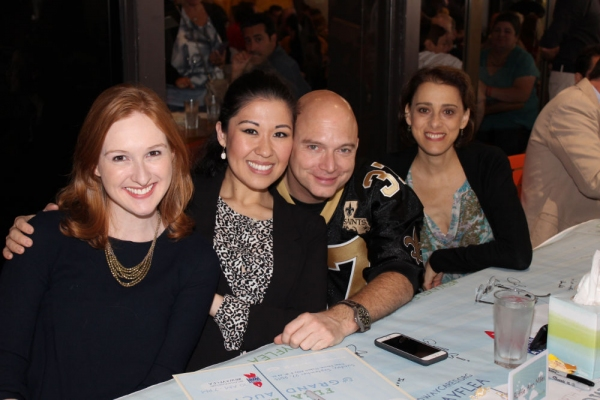 Erin Mackey, Ruthie Ann Miles, Michael Cerveris and Judy Kuhn