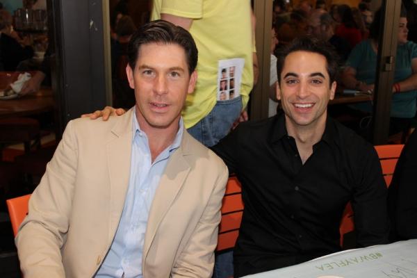 Richard Blake and Joseph Leo Bwarie