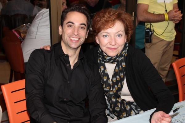 Joseph Leo Bwarie and Julie White