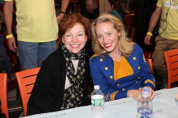 Julie White and Haven Burton