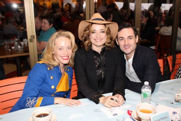 Haven Burton, Laura Michelle Kelly and Max von Essen