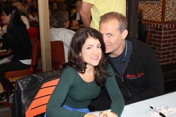 Sarah Stiles and Marc Kudisch