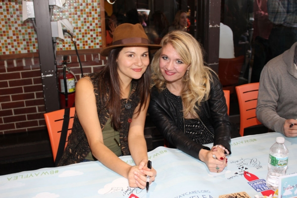Phillipa Soo and Scarlett Strallen