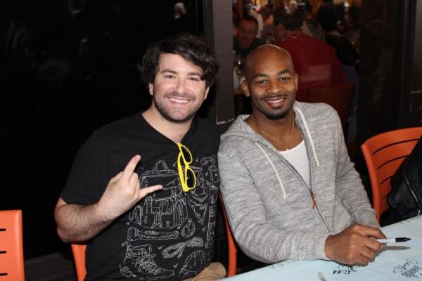 Alex Brightman and Brandon Victor Dixon