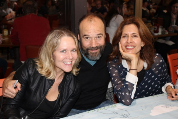 Rebecca Luker, Danny Burstein and Jessica Hecht