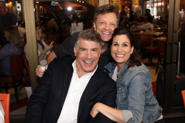 Bryan Batt, Jim Caruso and Stephanie J. Block