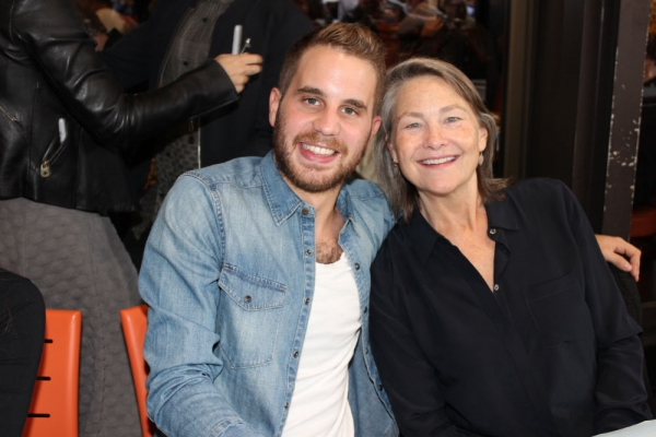 Ben Platt and Cherry Jones