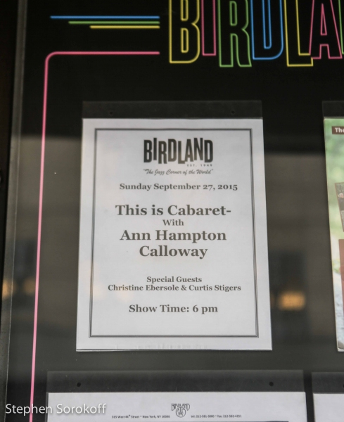 Photo Coverage: Birdland Hosts Ann Hampton Callaway's THIS IS CABARET with Guest  Christine Ebersole