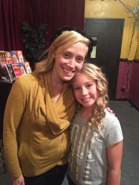 Photo Flash: KINKY BOOTS Star Haven Burton Visits RUTHLESS! Off-Broadway