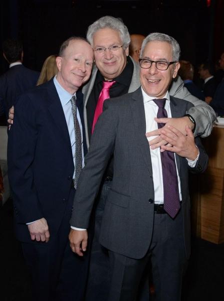 Jack Feldman Harvey Fierstein and Matthew Liss Photo