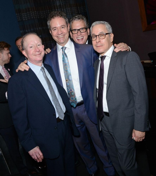 Jack Feldman, Mark Sendroff, Billy Stritch and Matthew Liss