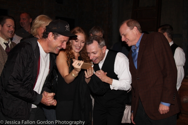 Sam Robards, Jennifer Ferrin, Arnie Burton and Doug Denoff