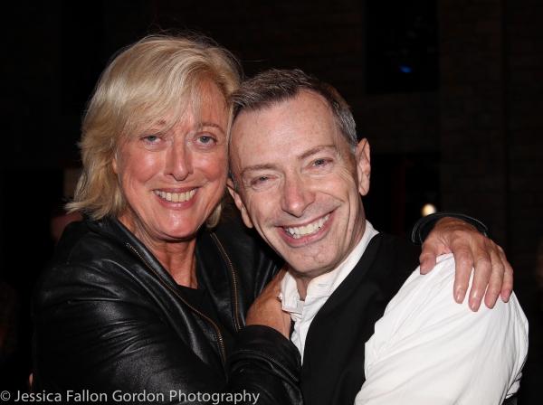 Maria Aitken and Arnie Burton Photo