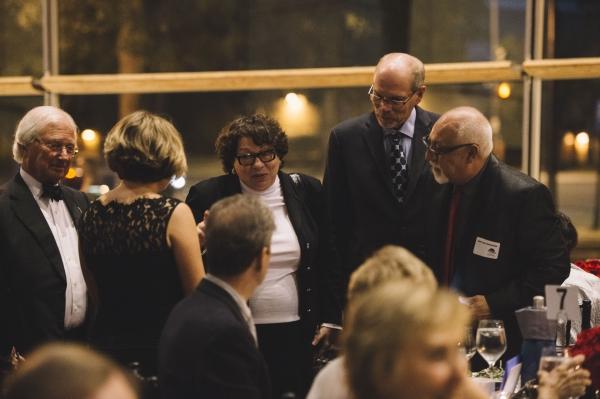 Karen Zacarias, Sonia Sotomayor, Edgar Dobie and Jose Luis Valenzuela