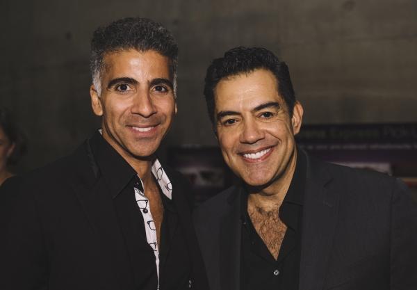 Oscar Ceville (Dr. Mendoza) and Carlos Gomez (Ernesto del Rio)
