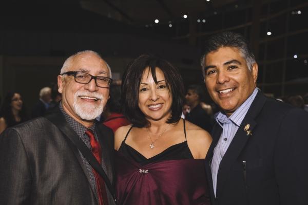 Jose Luis Valenzuela, Norma Cardenas and Tony Cardenas