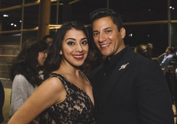 Esperanza America (Pilar Esperanza Castillo) and Nicholas Rodriguez (Sebastian Jose Castillo)