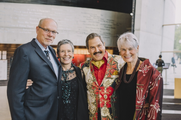 Edgar Dobie, Susan Clampitt, Jose Ucles and Elizabeth Neblett