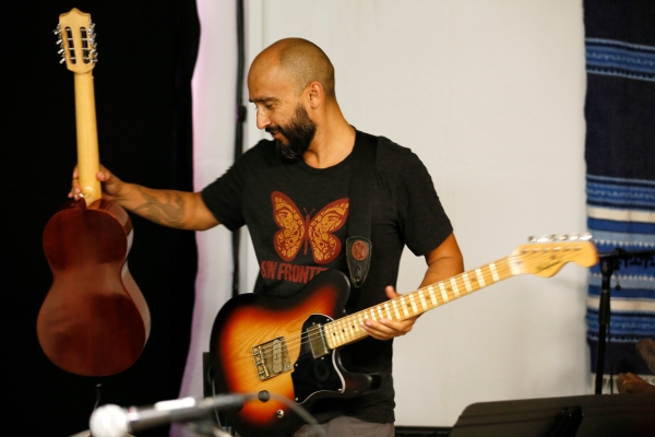 Special musical guest Raul Pacheco, of the Grammy-Award winning group Ozomatli