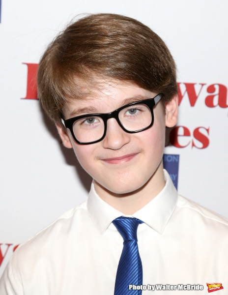 Jake Lucas attends the Broadway Salutes 2015 in Anita's Way on September 29, 2015 in New York City.