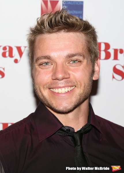 Nathaniel Hackmann attends the Broadway Salutes 2015 in Anita's Way on September 29, 2015 in New York City.