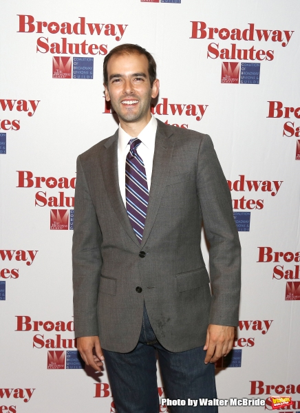 Marc Bruni attends the Broadway Salutes 2015 in Anita's Way on September 29, 2015 in New York City.