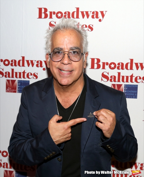 Richard Jay-Alexander attends the Broadway Salutes 2015 in Anita's Way on September 29, 2015 in New York City.