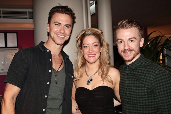 Richard Fleeshman, Julie Atheron, Stevie Webb