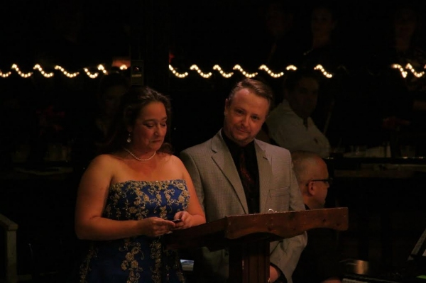 Kate Adams and Patrick Kramer pay tribute to Wayne Kirkpatrick Photo