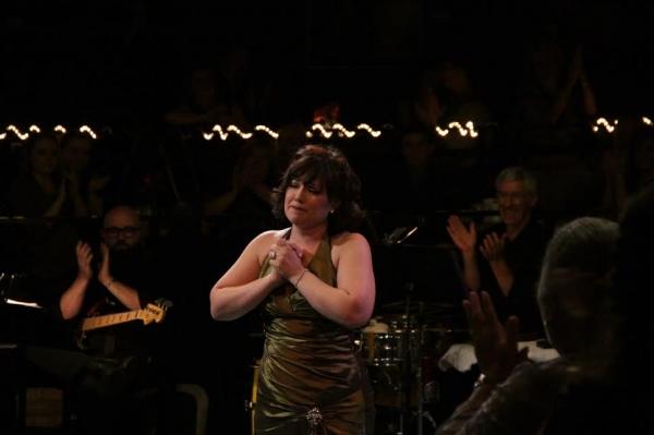 Nicole Hackmann sings for Carol Irvin