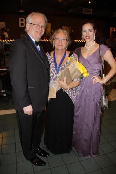 Jeffrey Ellis, Paula Flautt and Emily Eytchison