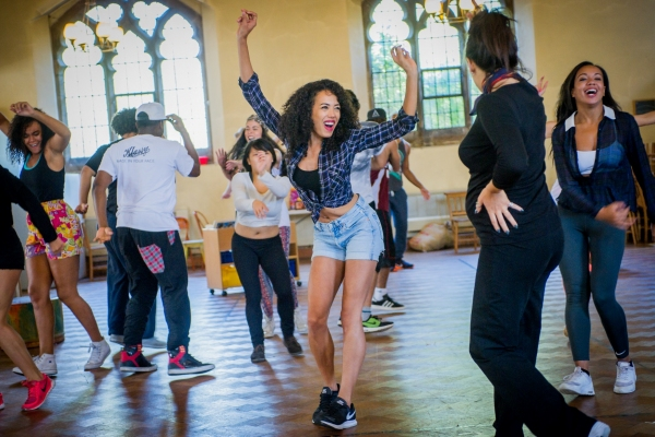 Photo Flash: In Rehearsal with the Cast of King's Cross Theatre's IN THE HEIGHTS