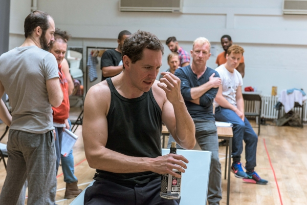 Photos: In Rehearsal with Bertie Carvel & Cast of The Old Vic's THE HAIRY APE