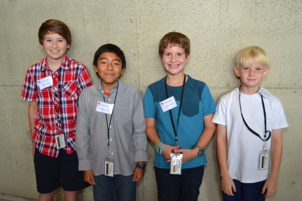 Ethan Van Slyke and Sebastian Gervase, with Aidan Pritchard and Jake Heston Miller, who will rotate the role of Oliver