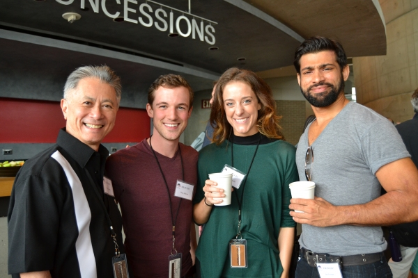 David Leong (fight choreographer). Chaz Jackson (Charley Bates), Lauren Gemelli (Milk Maid/Old Lady) and Ian Lassiter (Bill Sykes)